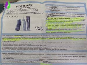 clairol-instructions